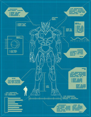 Giant Robot Blueprint - Martin Malchev