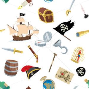 Pirate Accessories Pattern - Martin Malchev