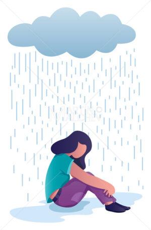 Woman in Depression - Martin Malchev