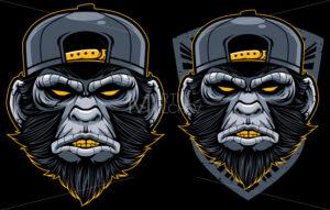 Cool Monkey Mascot - Martin Malchev