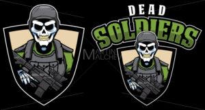 Dead Soldiers Mascot - Martin Malchev