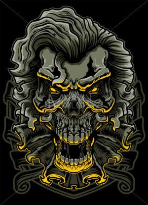 Evil Clown Skull - Martin Malchev