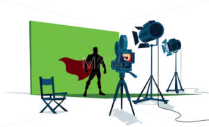 Superhero Movie Set - Martin Malchev