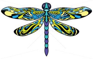 Dragonfly Mascot Symbol - Martin Malchev