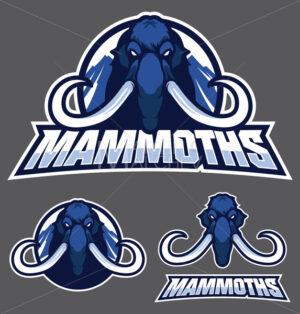 Mammoth Mascot Logo - Martin Malchev