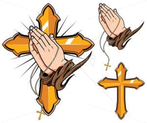 Praying Hands Symbols - Martin Malchev