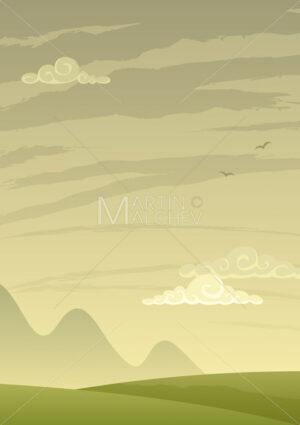 Landscape Background Vertical - Martin Malchev