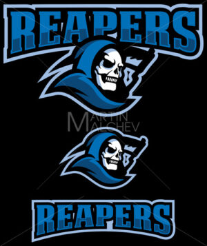 Reapers Mascot Logo - Martin Malchev