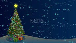 Christmas Tree Background - Martin Malchev