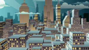 Cityscape Night Zoom - Martin Malchev
