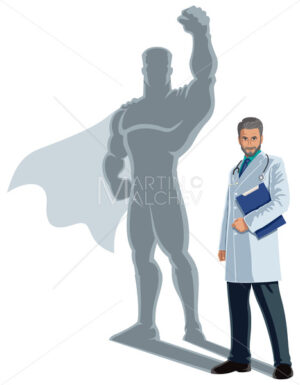Doctor Superhero Shadow - Martin Malchev
