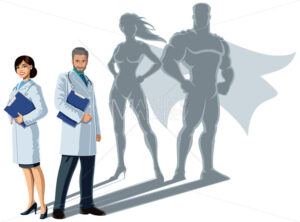 Doctor Superheroes Shadow - Martin Malchev
