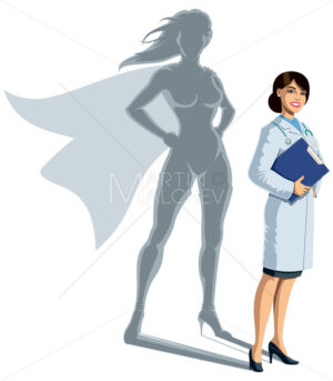 Doctor Superheroine Shadow - Martin Malchev