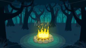 Forest Campfire - Martin Malchev