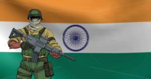 Indian Soldier Background Animation - Martin Malchev