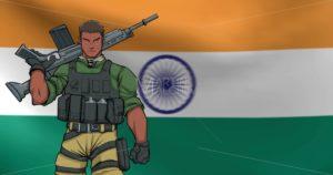 Indian Soldier Background Animation 2 - Martin Malchev
