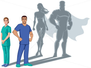 Nurse Superheroes Shadow - Martin Malchev