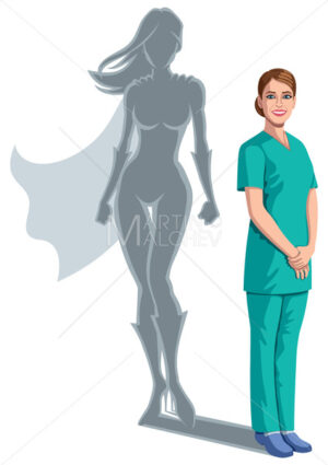 Nurse Superheroine Shadow - Martin Malchev