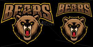 Bears Mascot Logo - Martin Malchev