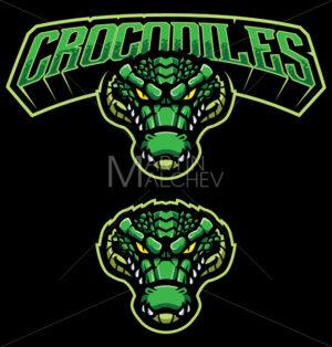 Crocodiles Mascot Logo - Martin Malchev