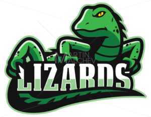 Green Lizard Mascot - Martin Malchev