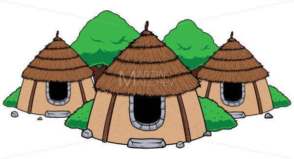 Hut Village Mascot - Martin Malchev