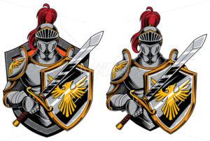 Knights Mascot Symbol - Martin Malchev