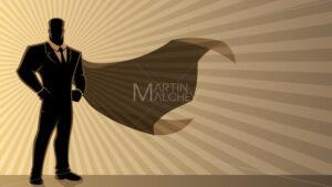 Super Businessman Background - Martin Malchev