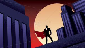 Super Businessman City Night - Martin Malchev