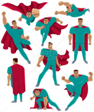 Healthcare Worker Superhero - Martin Malchev