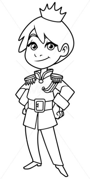 Little Prince Line Art - Martin Malchev