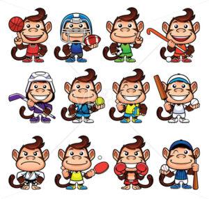 Monkey Sports Set - Martin Malchev