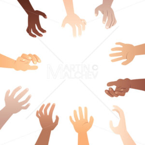 Hands Reaching To Product - Martin Malchev