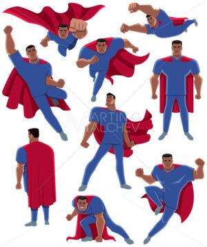 Indian Healthcare Worker Superhero - Martin Malchev